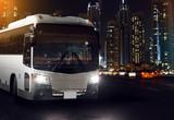 Fototapety Night Bus