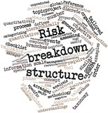 Word cloud for Risk breakdown structure