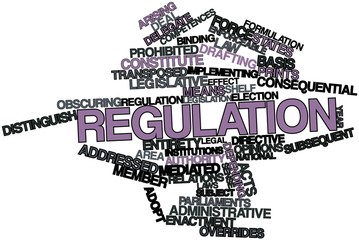 Word cloud for Regulation