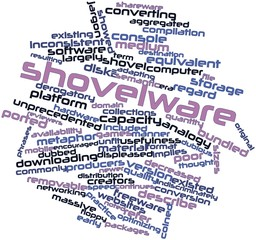 Word cloud for Shovelware