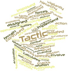 Word cloud for Tactic