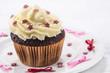 Schokoladen cup cake mit Buttercreme