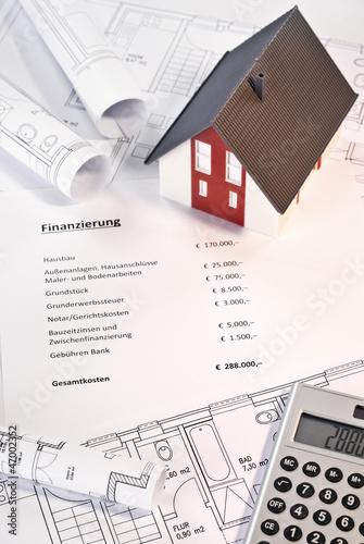 Finanzierung eines Einfamilienhauses