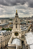 Londra - Panoramica dalla Saint Paul Cathedral