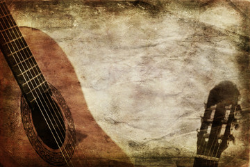 Grunge Classic Guitar