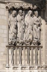 cathédrale Laon portail