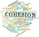 Word cloud for Cohesion poster