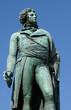Alsace, the statue of Kleber in Strasbourg