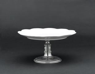 A porcelain dessert stand for serving dessert