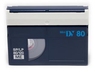 Mini DV video tape