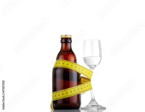 Overweight due to too much alcohol