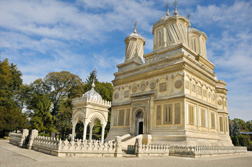 Orthodox Church of Arges Monastery, Curtea de Arges, Romania