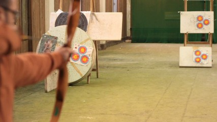 shooting arrows slow motion