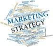 Word cloud for Marketing strategy