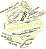 Word cloud for Web conferencing