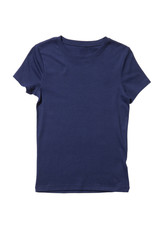 Blue t-shirt isolated