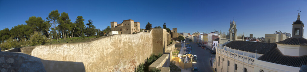 Alcazaba of Badajoz, Spain