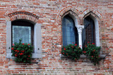 Medieval Castle Windows