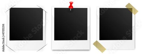 Verschiedene Polaroids