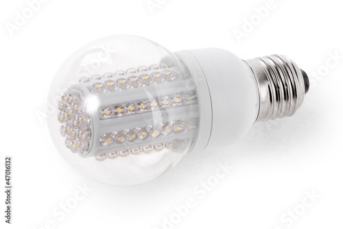 LED Bulb isolated on white background
