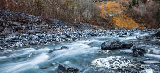 Le Giffre Riverscape, France