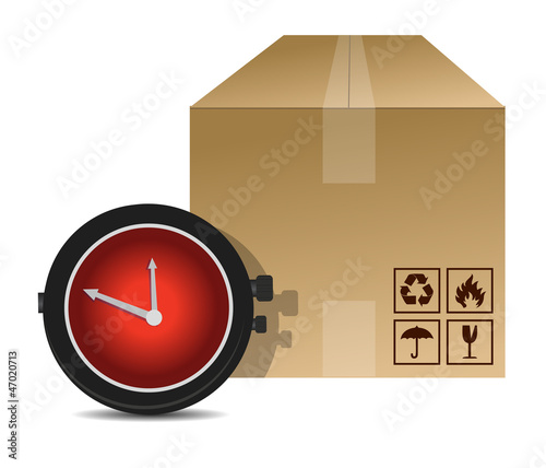 watch and box shipping