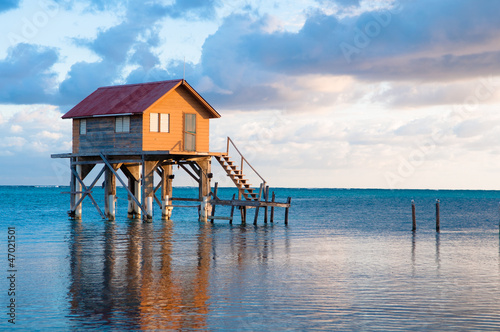 Home on the Ocean in Ambergris Caye Belize - 47021501