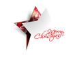 christmas star, design, vector illustration.