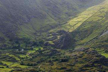 Ausblick vom Healy Pass in Irland