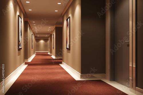 Hotel Walkway - 47024555