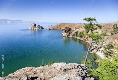Olkhon idyllic landscape