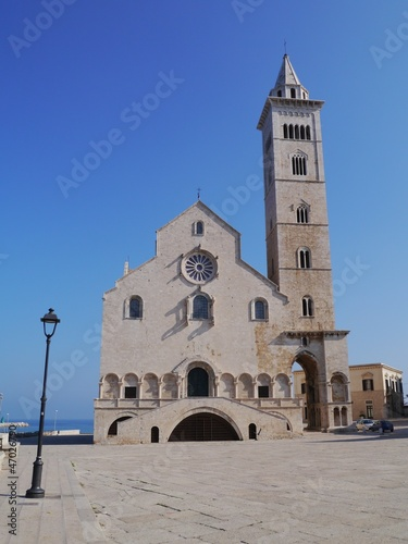 The cathedral of Trani in Apulia in Italy