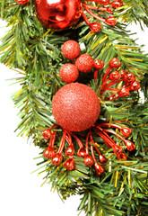 Decorative christmas wreath