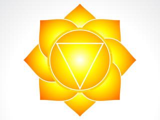 vector solar plexus chakra