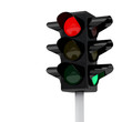 Traffic lights 3d