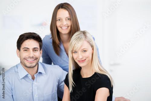 geschäftsleute am arbeitsplatz