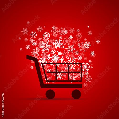 Logo discount. Shopping cart # Vector