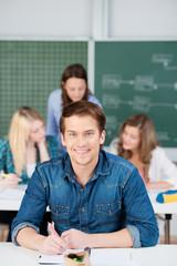 student im unterricht