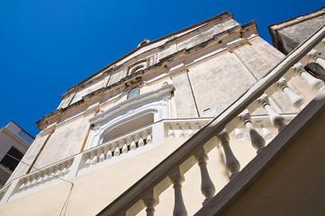 Mother Church. Diamante. Calabria. Italy.
