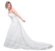 bride on white