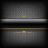Black and Gold Luxury Background.