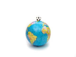 Futebol mundial simbolizado pela bola