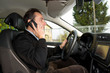 driving telephone...