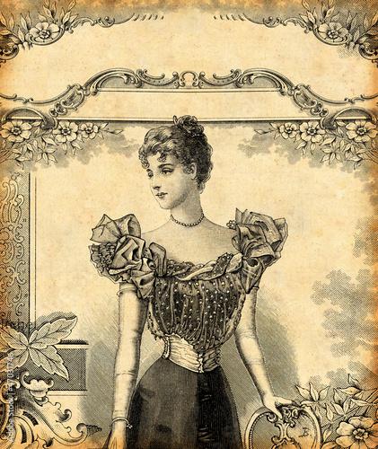 Femme en tenue de soirée