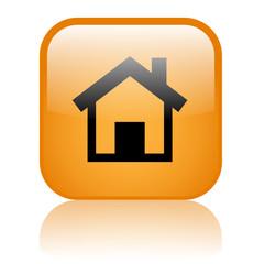 """""""HOME"""" Web Button (website homepage internet start information)"""