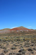 Roter Hügel in der Prärie