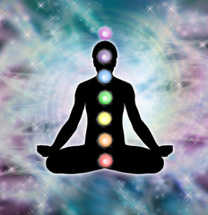 Cosmic Meditation in Lotus Position