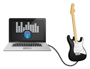 Guitar Computer Connection