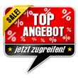 Top Angebot, Vektor