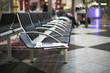 Sitzbank am Flughafen